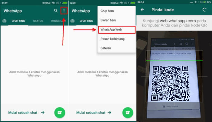 Aplikasi Whatsapp Web